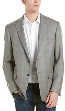 Hart Schaffner Marx Wool & Silk-blend Sport Coat.