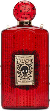 Charlotte Olympia Red Perspex Kiss of Death Clutch