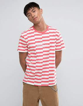 HUF T-Shirt With Block Stripe