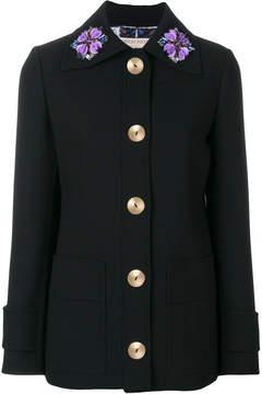 Emilio Pucci floral appliqué jacket