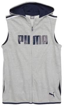 Puma Sleeveless Full Zip Hoodie