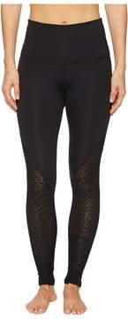 Beyond Yoga Cut It Close Mesh High-Waist Long Leggings Women's Casual Pants