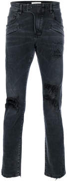Pierre Balmain distressed faded jeans