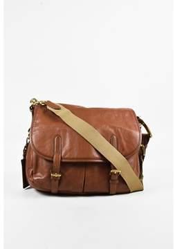 Ralph Lauren Pre-owned Brown Leather Shoulder Bag.