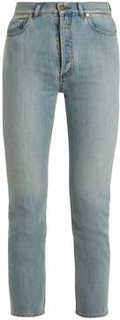 Valentino High-rise cropped jeans
