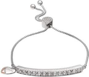 Brilliance+ Brilliance Mother Daughter Adjustable Bracelet with Swarovski Crystals