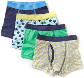 Class Club Adventure Wear by Little Boys 2T-5 4-Pack Printed Boxer Breifs