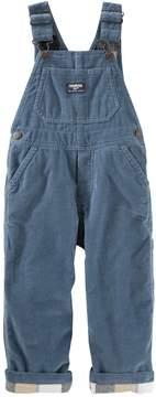 Osh Kosh Baby Boy Corduroy Flannel-Lined Overalls