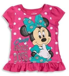 Nannette Little Girl's Minnie Mouse Tee