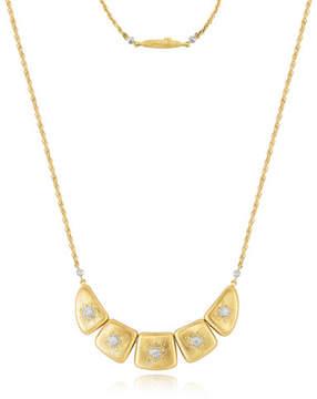 Buccellati Classica 18K Necklace with Diamonds