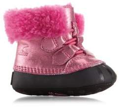 Sorel Baby Girl's Shearling-Lined Boots