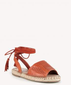 Sole Society Clover Lace Up Espadrille