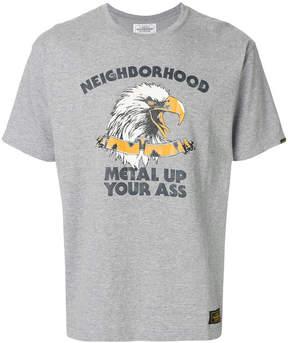 Neighborhood Eagle logo patch T-shirt