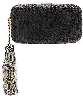 KAYU Charlotte Clutch in Black.