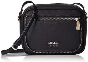 Armani Jeans Faux Zipper Sling Bag