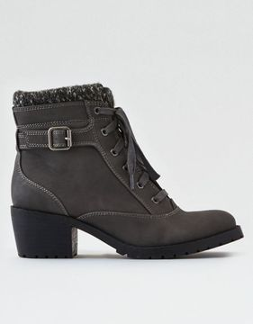 American Eagle Outfitters AE Heeled Lug Boot