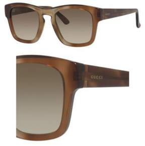 Gucci Sunglasses 3791/S 0OHO Shaded Havana Brown / DB brown gray gradient lens
