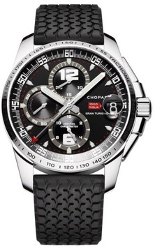 Chopard Mille Miglia Gran Turismo 168459 3001 Stainless Steel 44mm Mens Watch