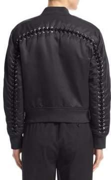 3.1 Phillip Lim Lace-Up Bomber Jacket