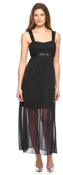 Connected Apparel Women's Chiffon Maxi Dress