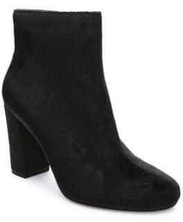 Tahari Selena Velvet Booties