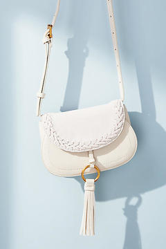 Anthropologie Willow Saddle Bag