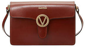 Mario Valentino Valentino By Jade Flap Soave Leather Shoulder Bag