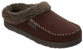 Dearfoams Men's MFS Clog Slipper with Whipstitch