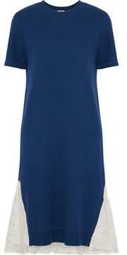 Clu Lace-Paneled Knitted Dress