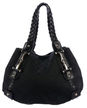 Gucci Medium GG Pelham Tote - BLACK - STYLE