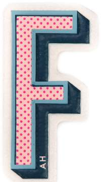 Anya Hindmarch 'F' sticker