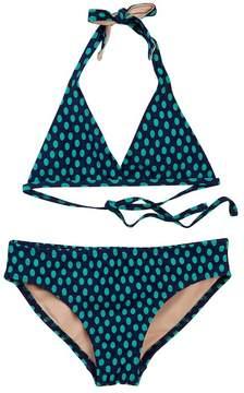 Toobydoo Heliconia Dot Bikini (Toddler, Little Girls, & Big Girls)