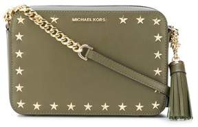 Michael Kors Women's Green Leather Shoulder Bag. - GREEN - STYLE