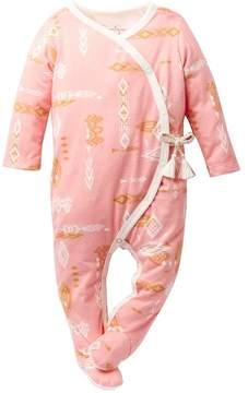 Jessica Simpson Crossover Footie (Baby Girls)