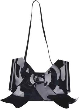 Maison Margiela Paris Bow Detailed Shoulder Bag