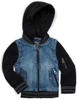 Urban Republic Little Boy's & Boy's Denim Bomber Jacket