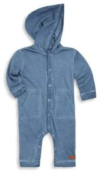 7 For All Mankind Baby Boy's Hooded Cotton Coverall