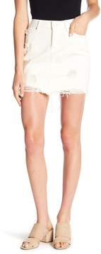 Articles of Society Stacy Distressed Mini Skirt