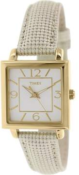 Timex Elevated Classics Leather Ladies Watch T2P379