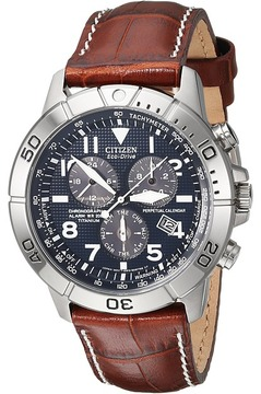 Citizen BL5250-02L Eco-Drive Perpetual Calendar Chronograph Watch Dress Watches