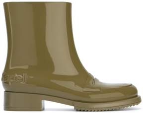 No.21 rubber ankle boots
