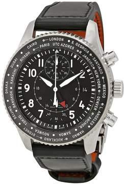 IWC Pilot Black Dial Automatic Men's GMT Watch