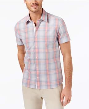 Ryan Seacrest Distinction Men's Slim-Fit Plaid Sport Shirt, Created for Macy's