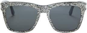 Saint Laurent Devon Glitter Sunglasses