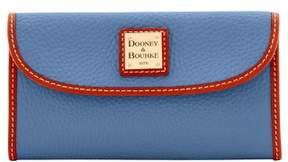 Dooney & Bourke Pebble Grain Continental Clutch Wallet - GRAPHITE - STYLE