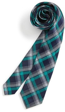 Nordstrom Boy's Check Silk Tie
