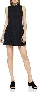 BCBGeneration Sleeveless Eyelet Shirt Dress