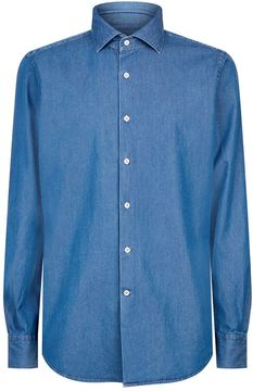 SLOWEAR Casual Denim Shirt