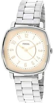 Fossil Women's ES4194 Silver Stainless-Steel Quartz Fashion Watch