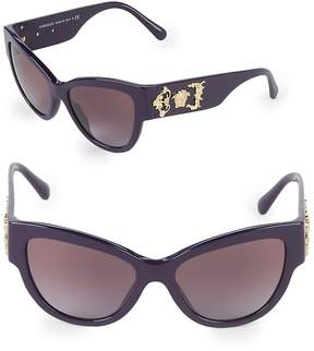 Versace Women's 55MM Butterfly Sunglasses